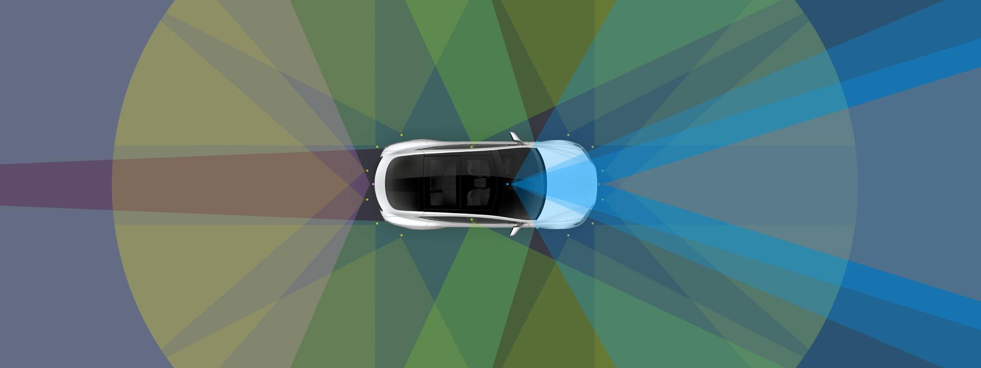 Autonoom rijden gaat niet werken - Tesla Autopilot sensoren