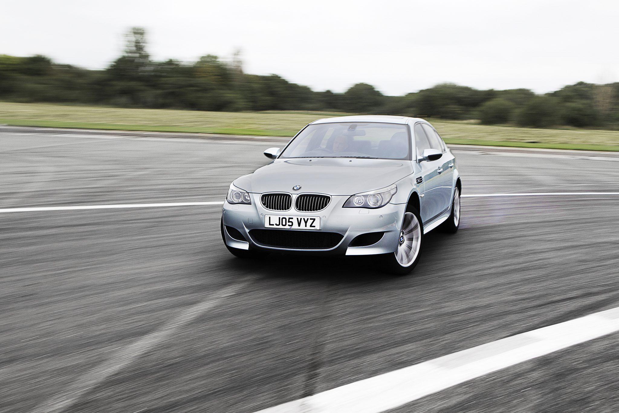 BMW M5 driften V10