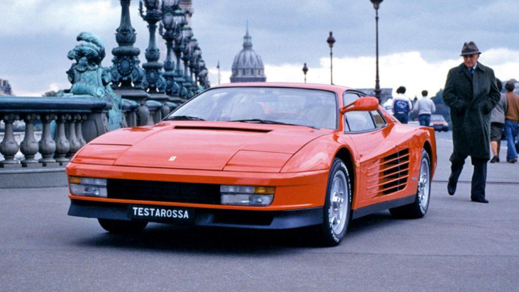 Ferrari Testarossa Dogleg-transmissie