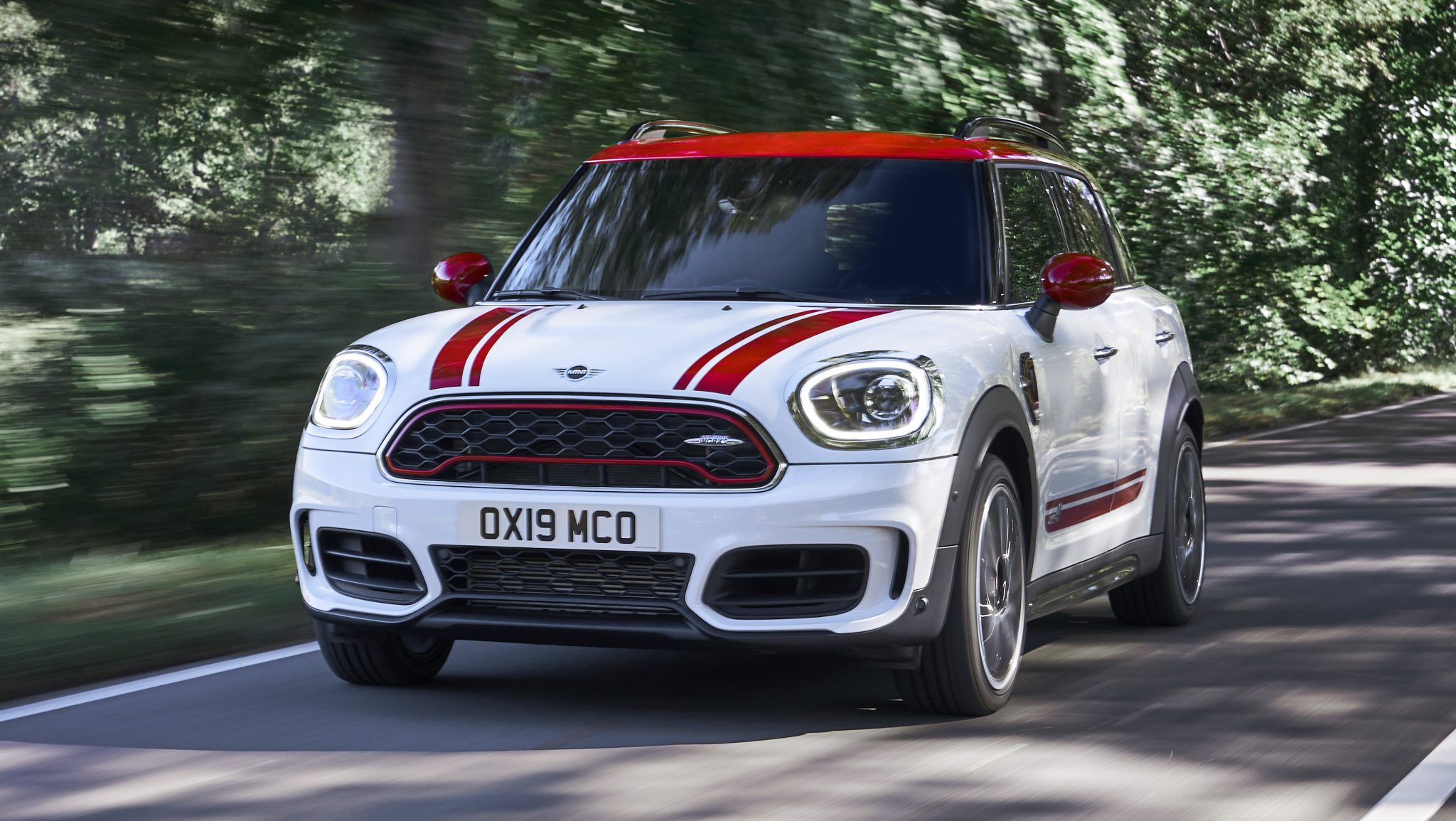 De Mini Countryman JCW