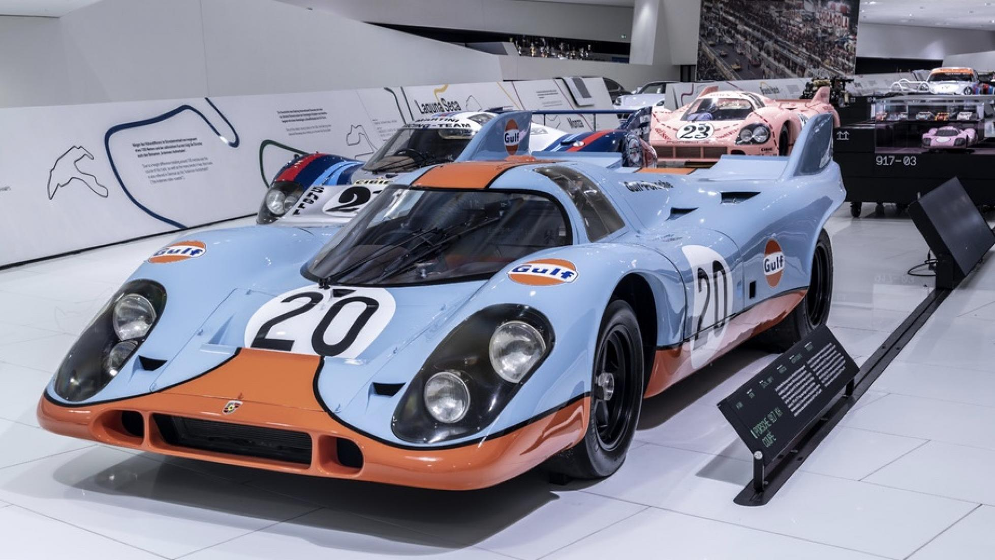 Porsche-museum Porsche 917