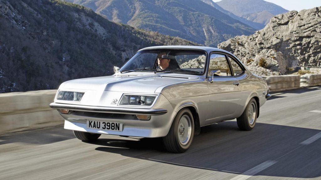 Vauxhall Firenza Droopsnoot Dogleg-transmissie