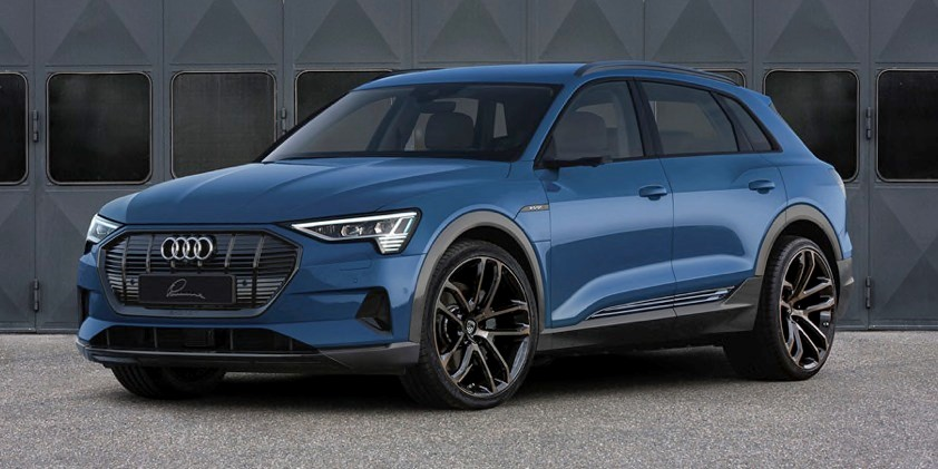 Audi e-tron Lumma