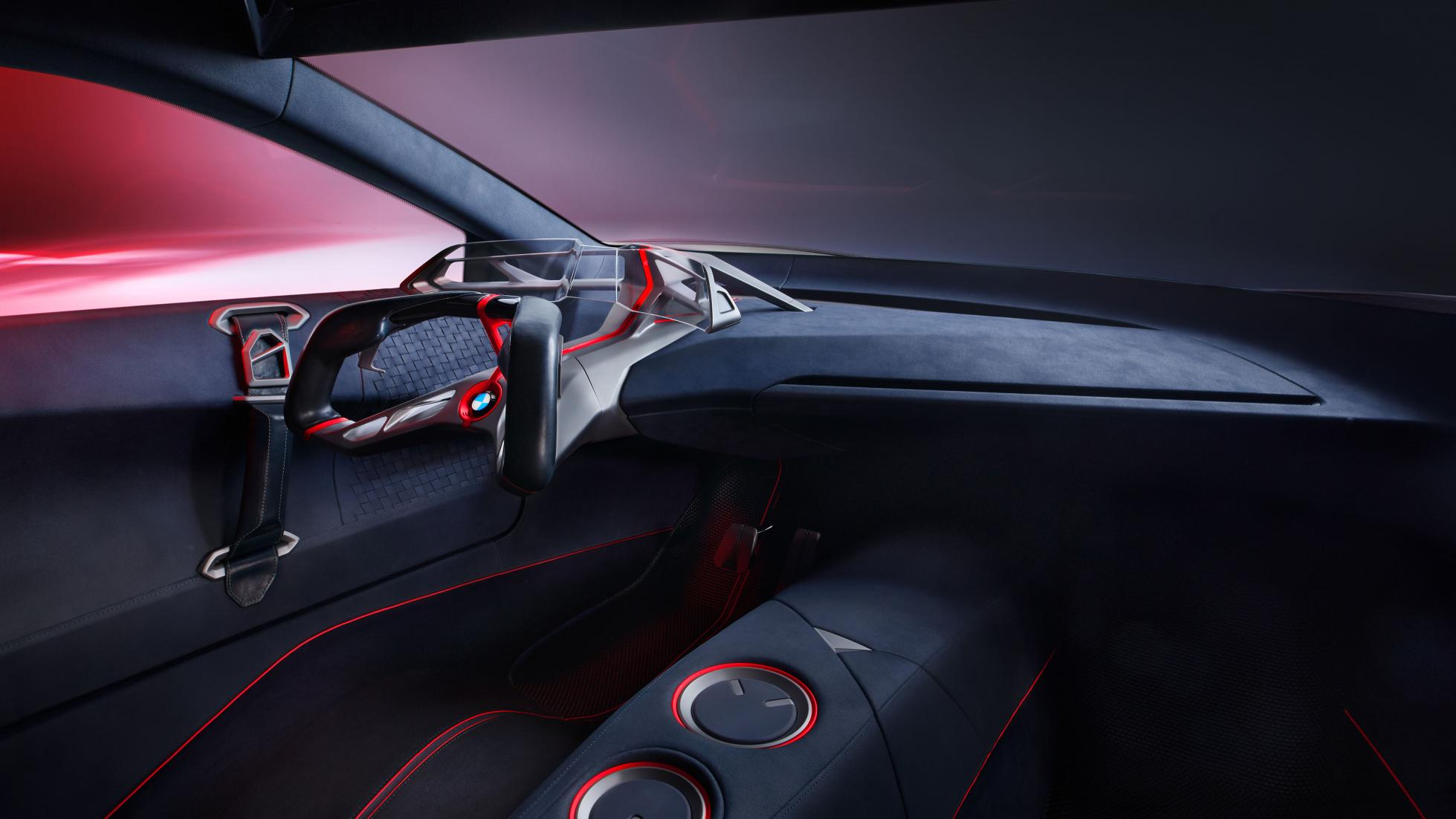 BMW Vision M Next 2019 interieur