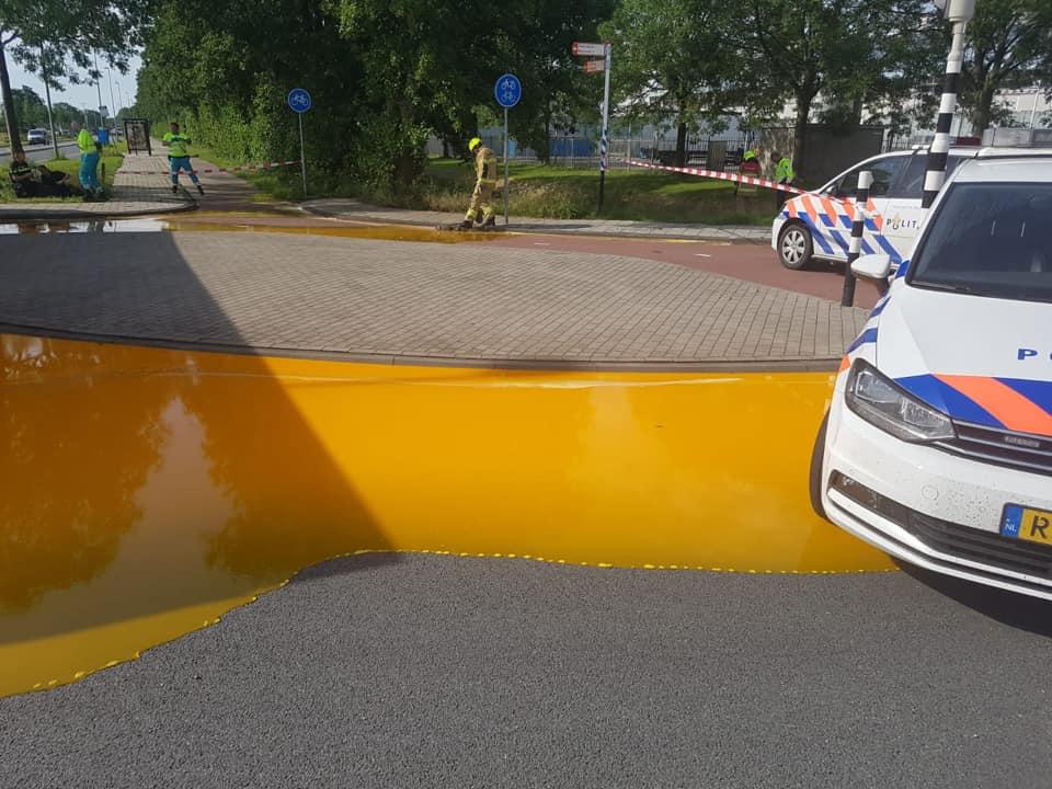 15.000 liter eigeel gemorst in Hoorn
