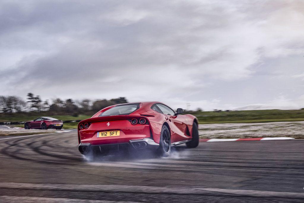 Ferrari 812 vs Aston Martin DBS