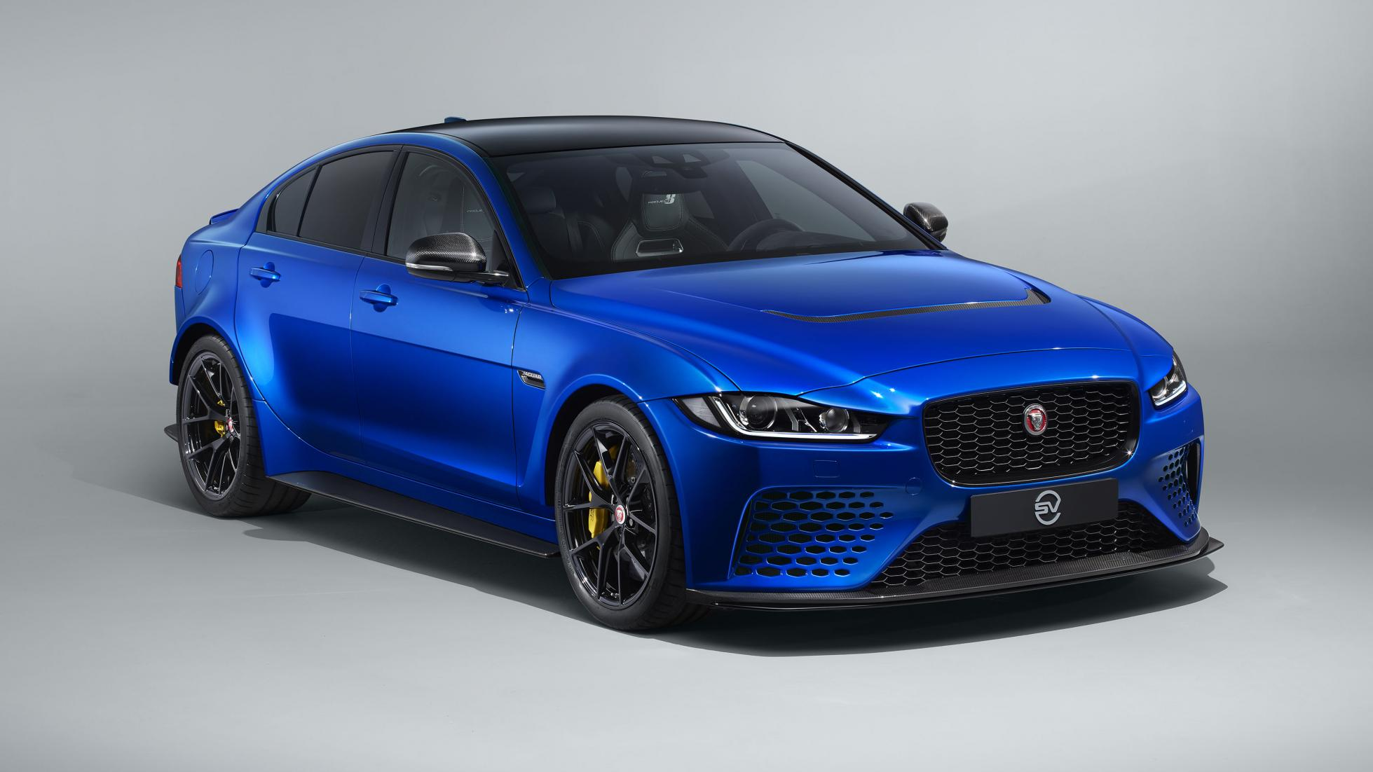 Jaguar project 8 voorkant