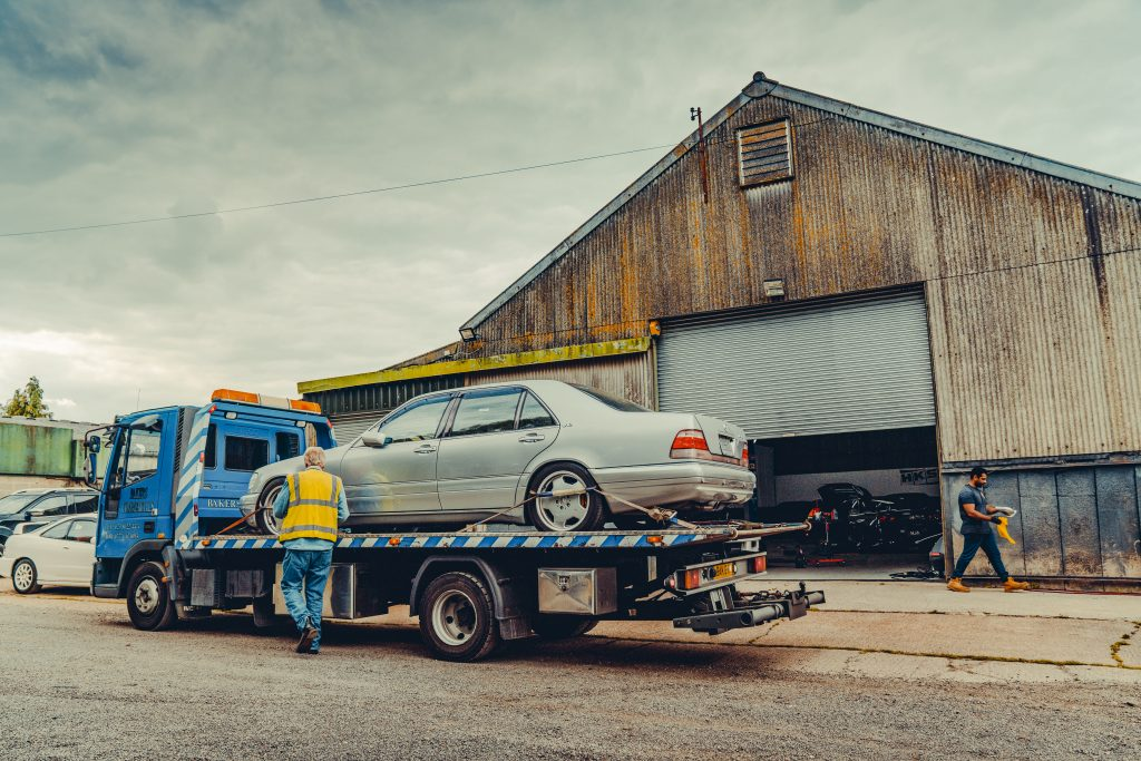 Mercedes S-klasse klinkt als F1-auto