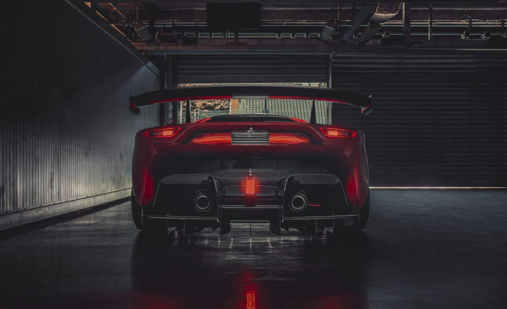 Ferrari P80/C achterlichten