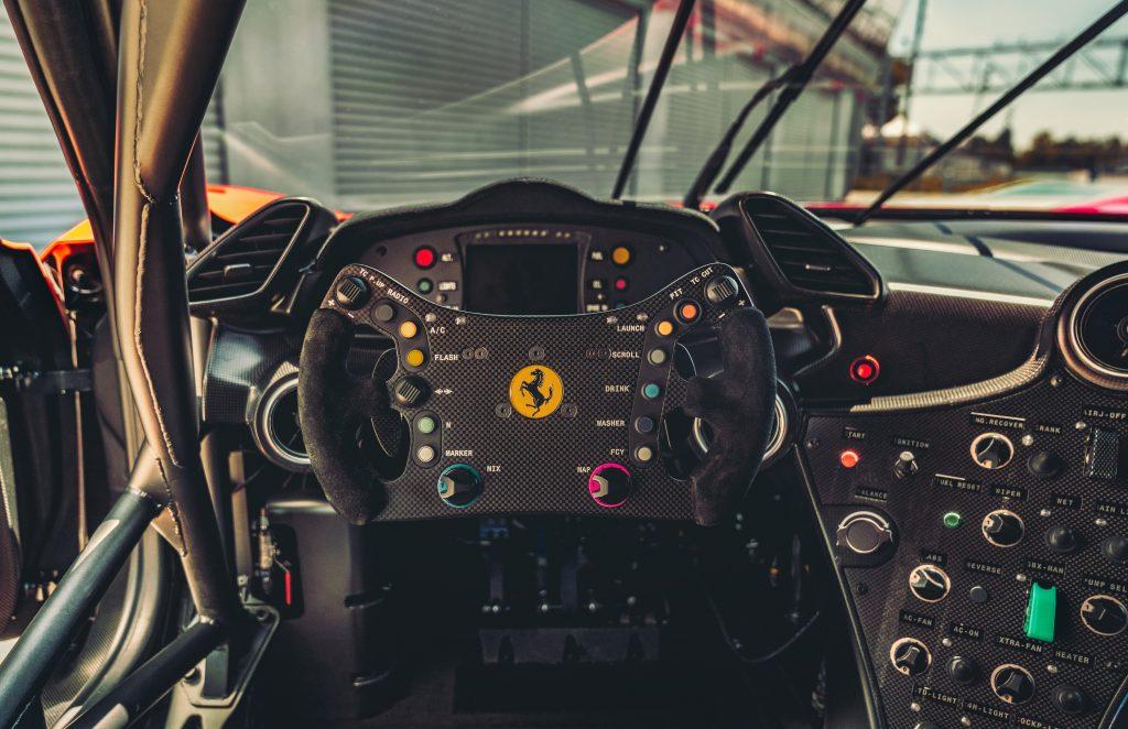 Ferrari P80/C stuur