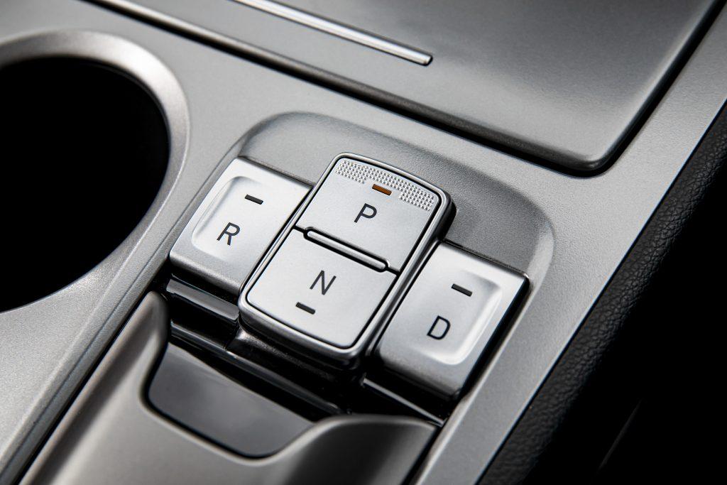 Hyundai Kona Electric Premium schakelknoppen