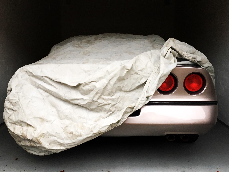 Chevrolet Corvette rode knipperlichten
