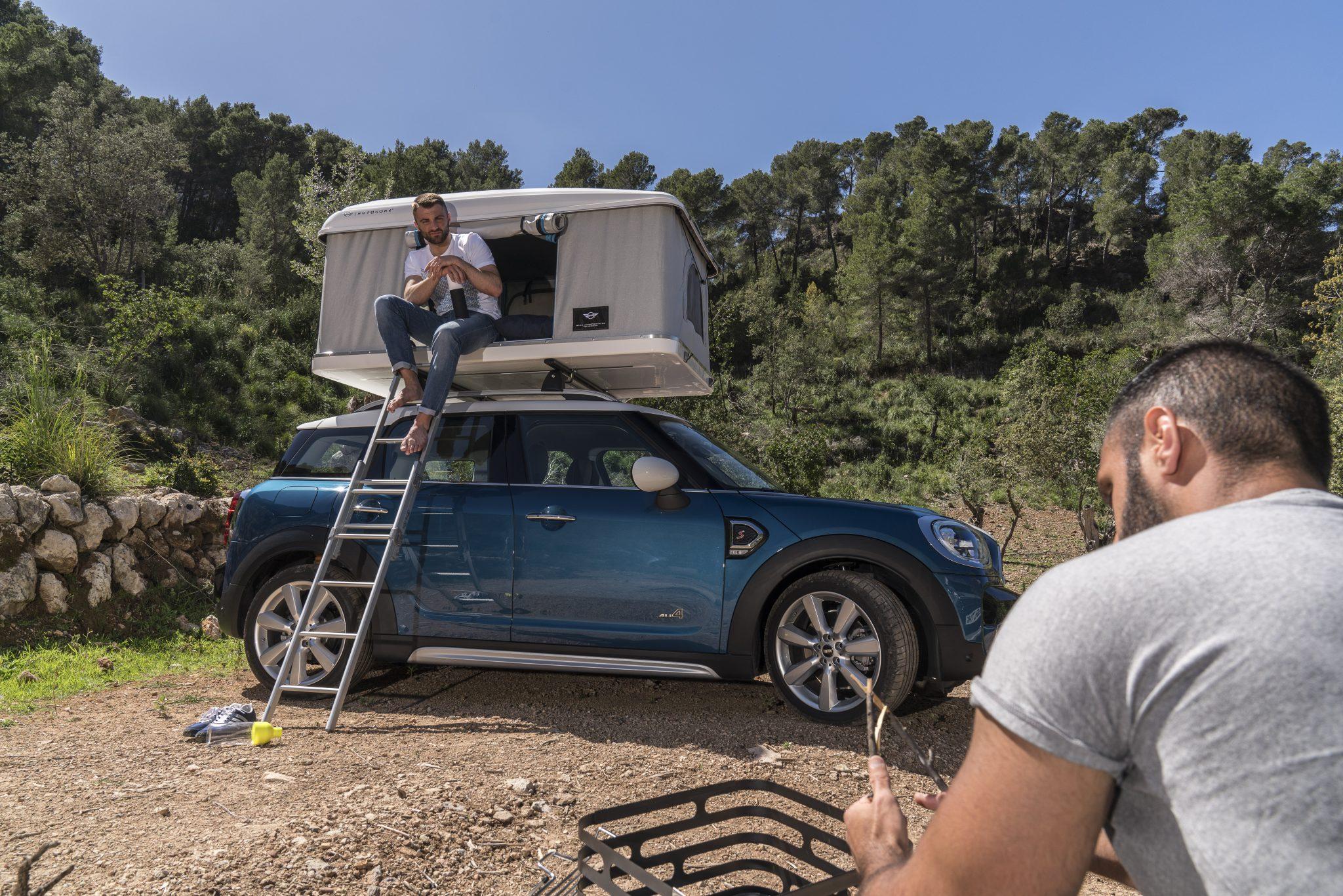 Mini Countryman met Autohome-tent