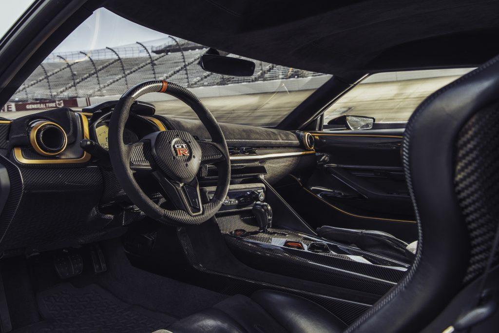 Nissan GT-R50 dashboard