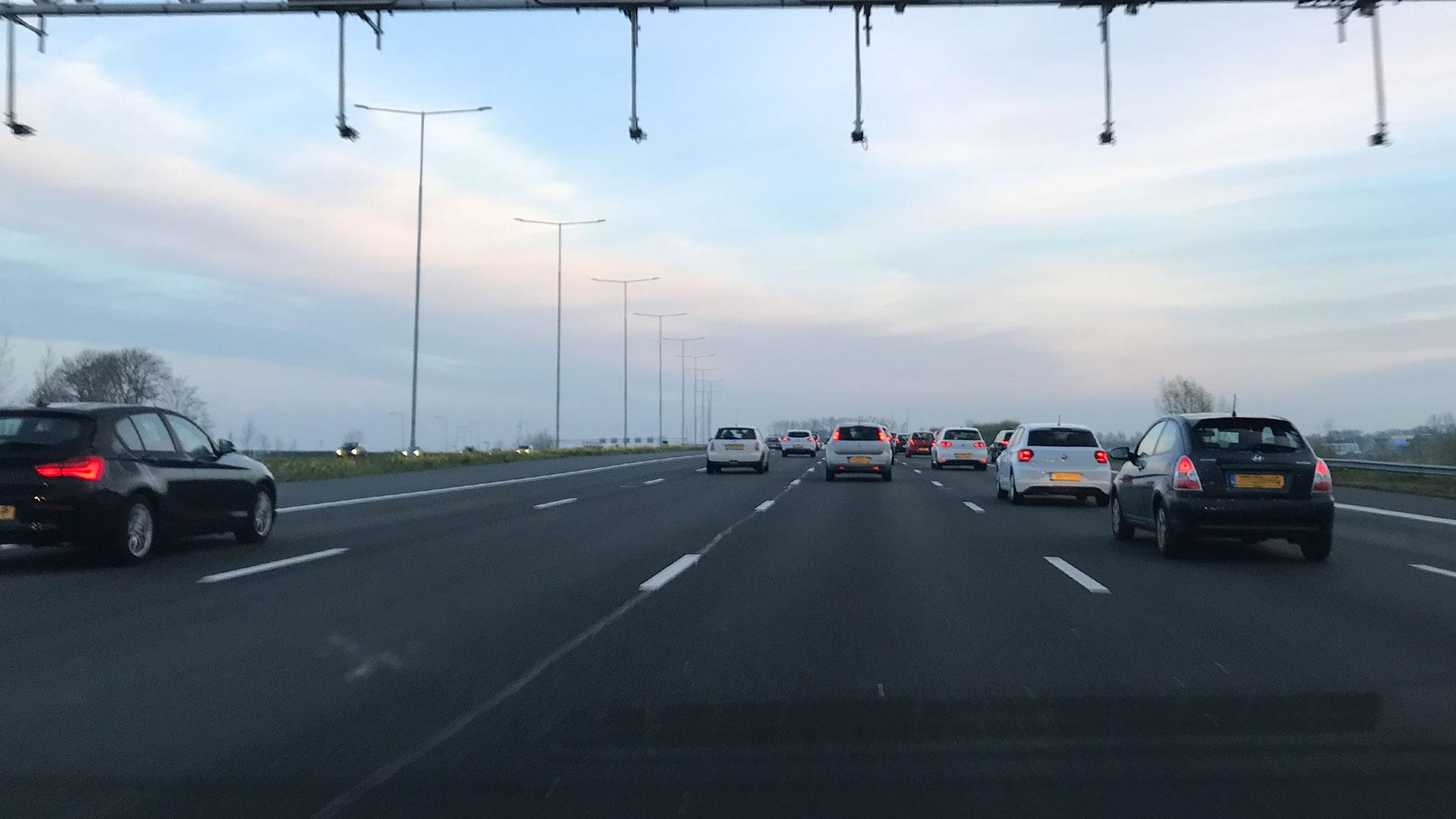Trajectcontrole A2 snelweg