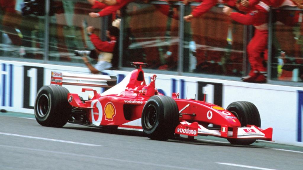 Ferrari F1-auto F2002