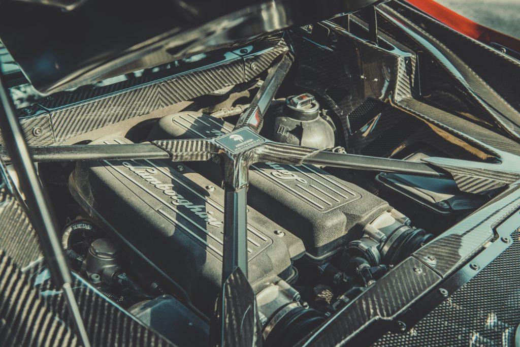 Ares Panther detail motorblok