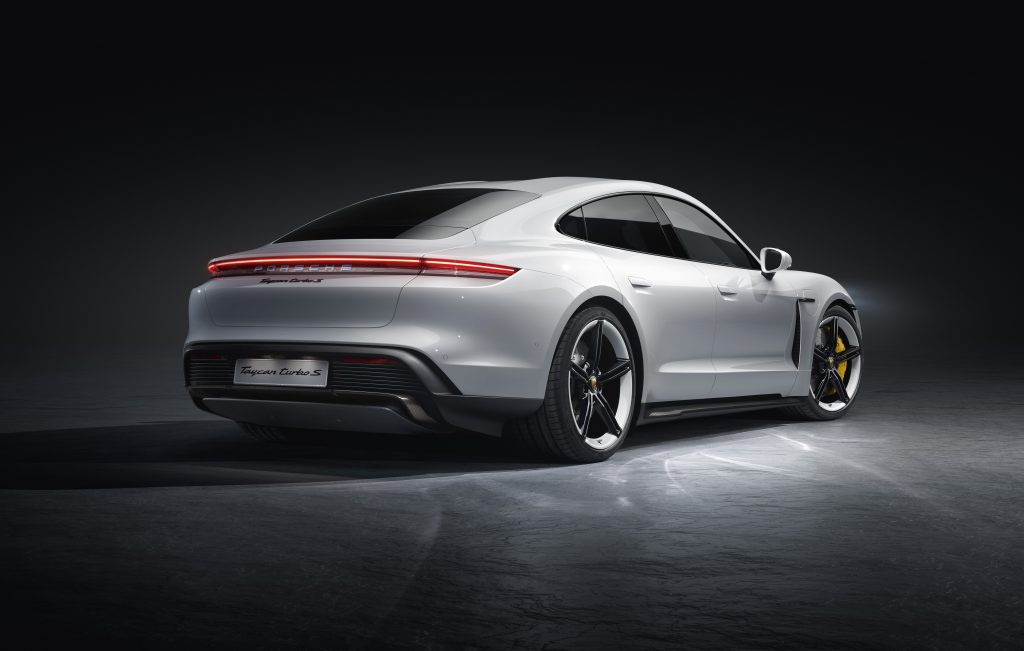 Porsche Taycan Turbo S 2019 studio