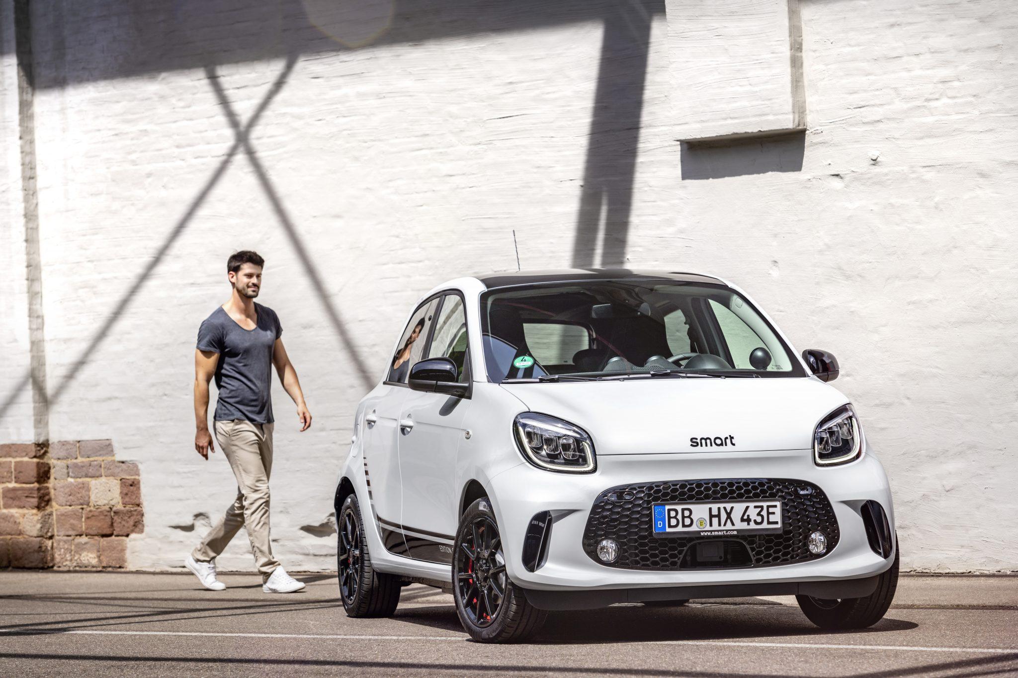 Smart Forfour facelift 2019