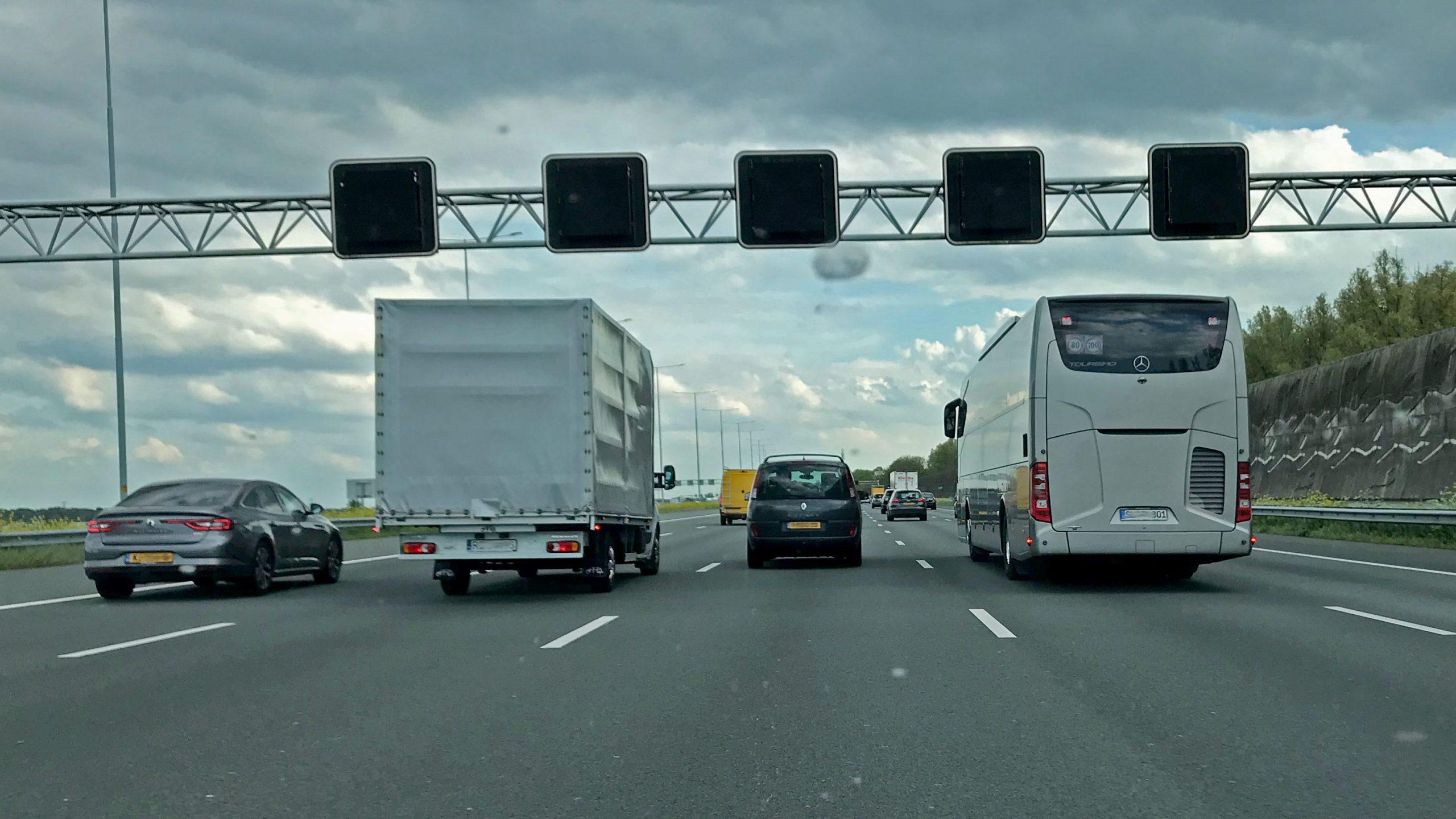 snelheid A2 Amsterdam snelweg