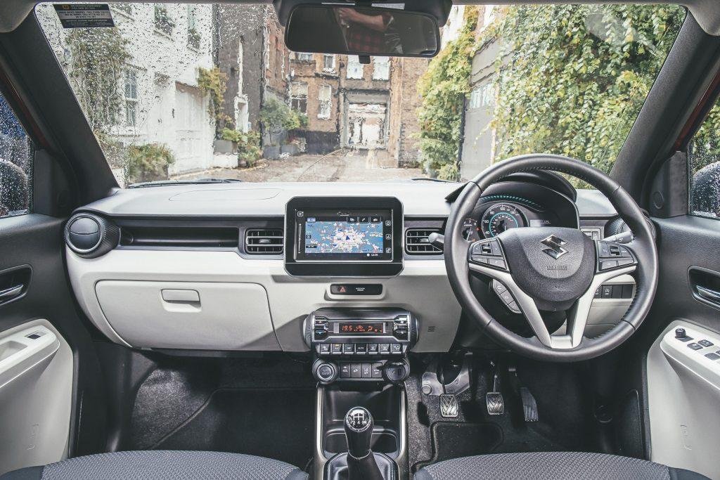 Suzuki Ignis interieur dashboard