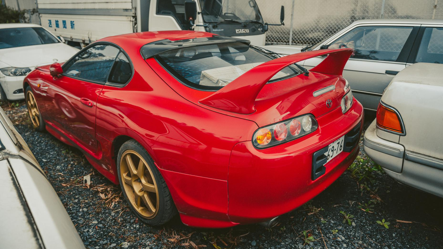 Japans autokerkhof Toyota Supra