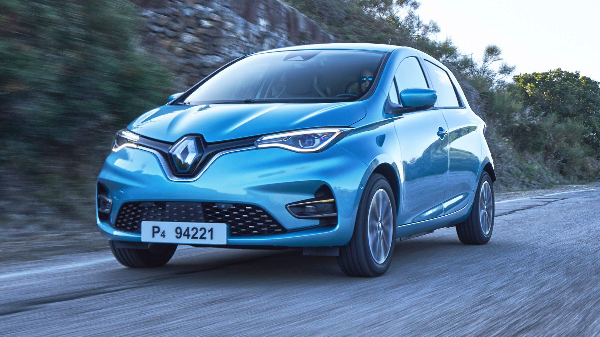 Renault Zoe 3 4 voor 2019