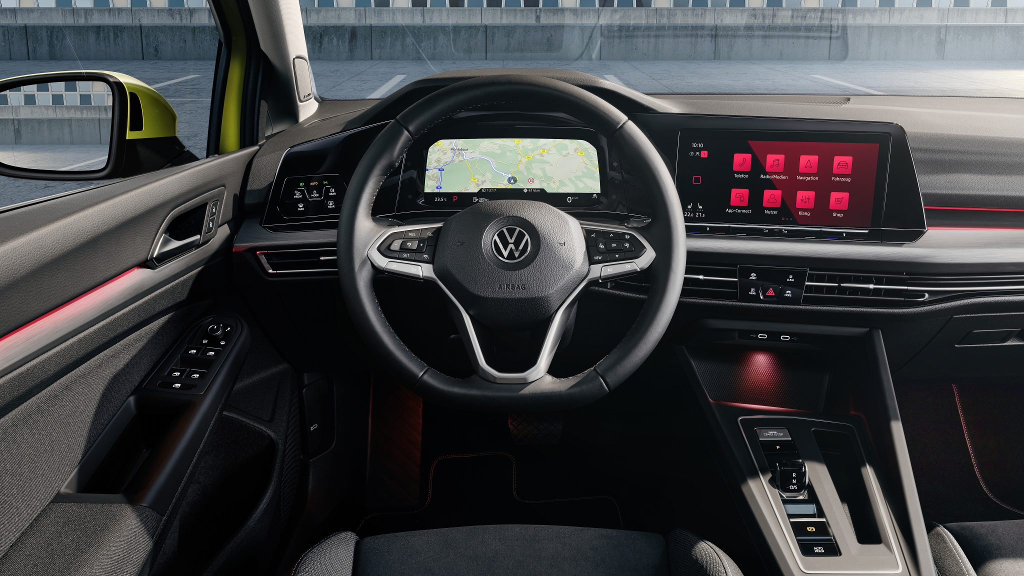 Volkswagen Golf 8 interieur