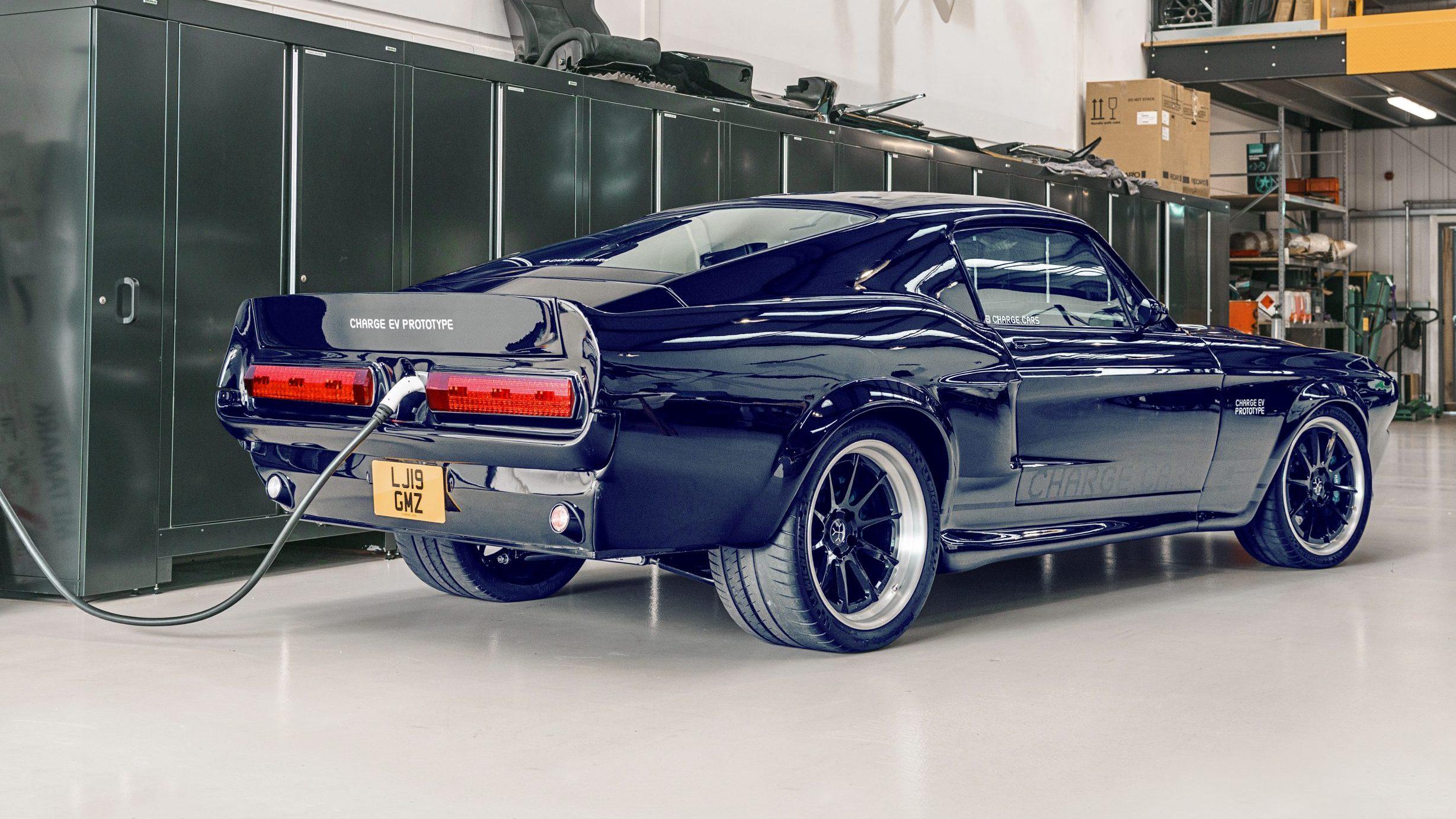 Elektrische Mustang Charge