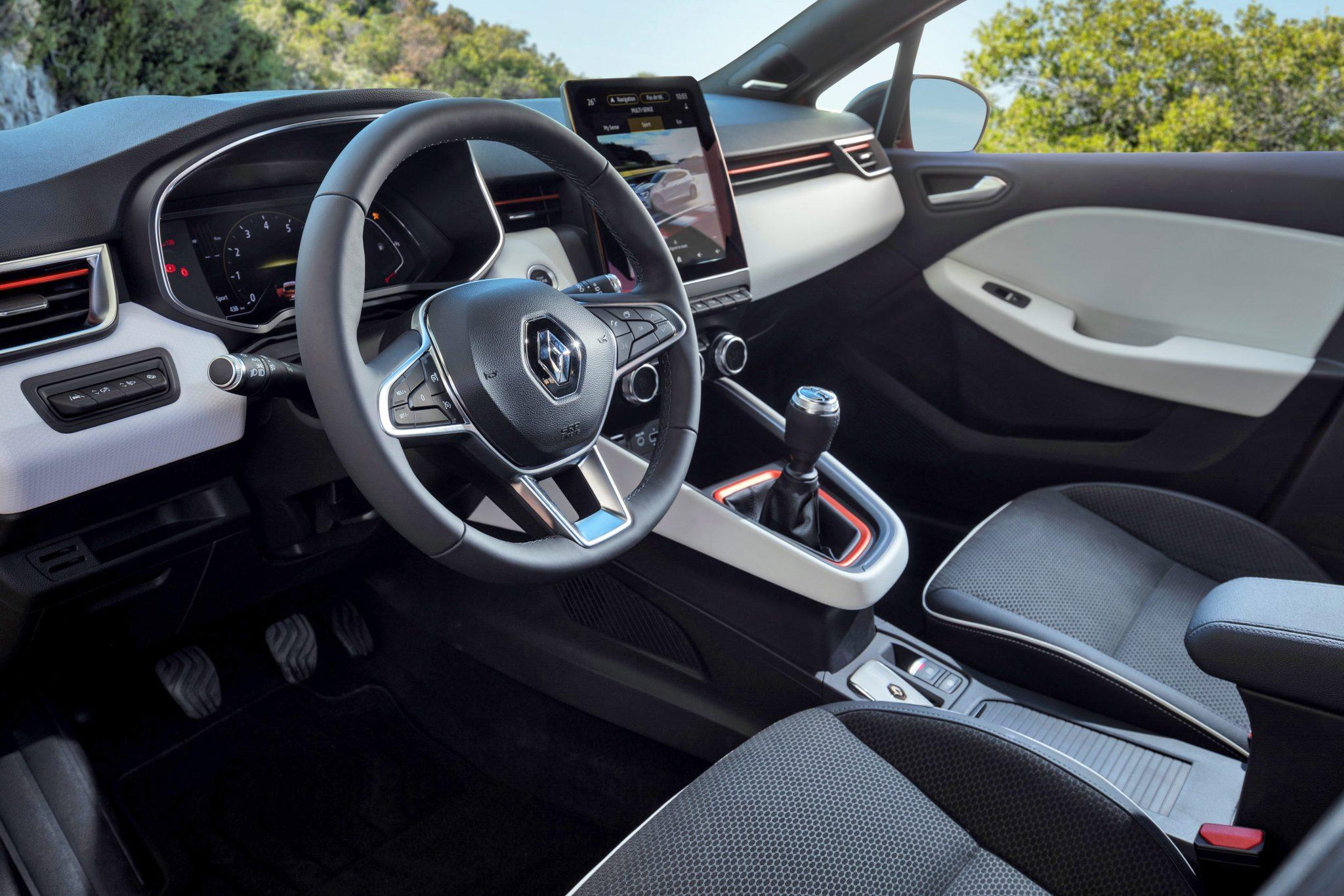 Renault Clio TCE 100 Interieur RS Line