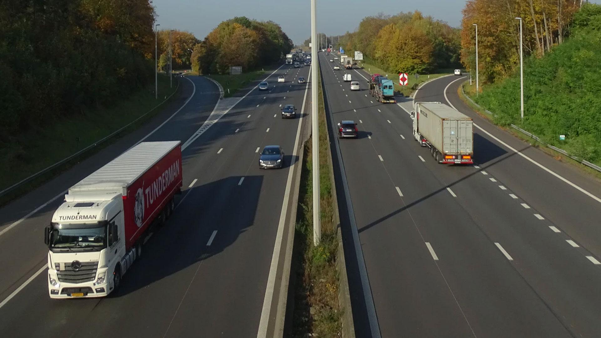 Snelweg in belgie Trajectcontroles Vlaanderen