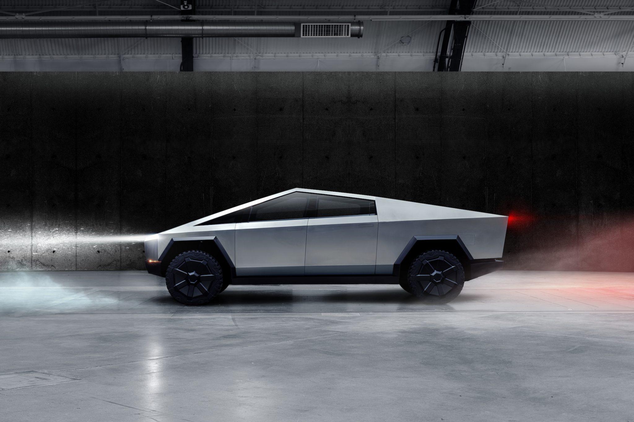 Tesla Cybertruck 2020 zij