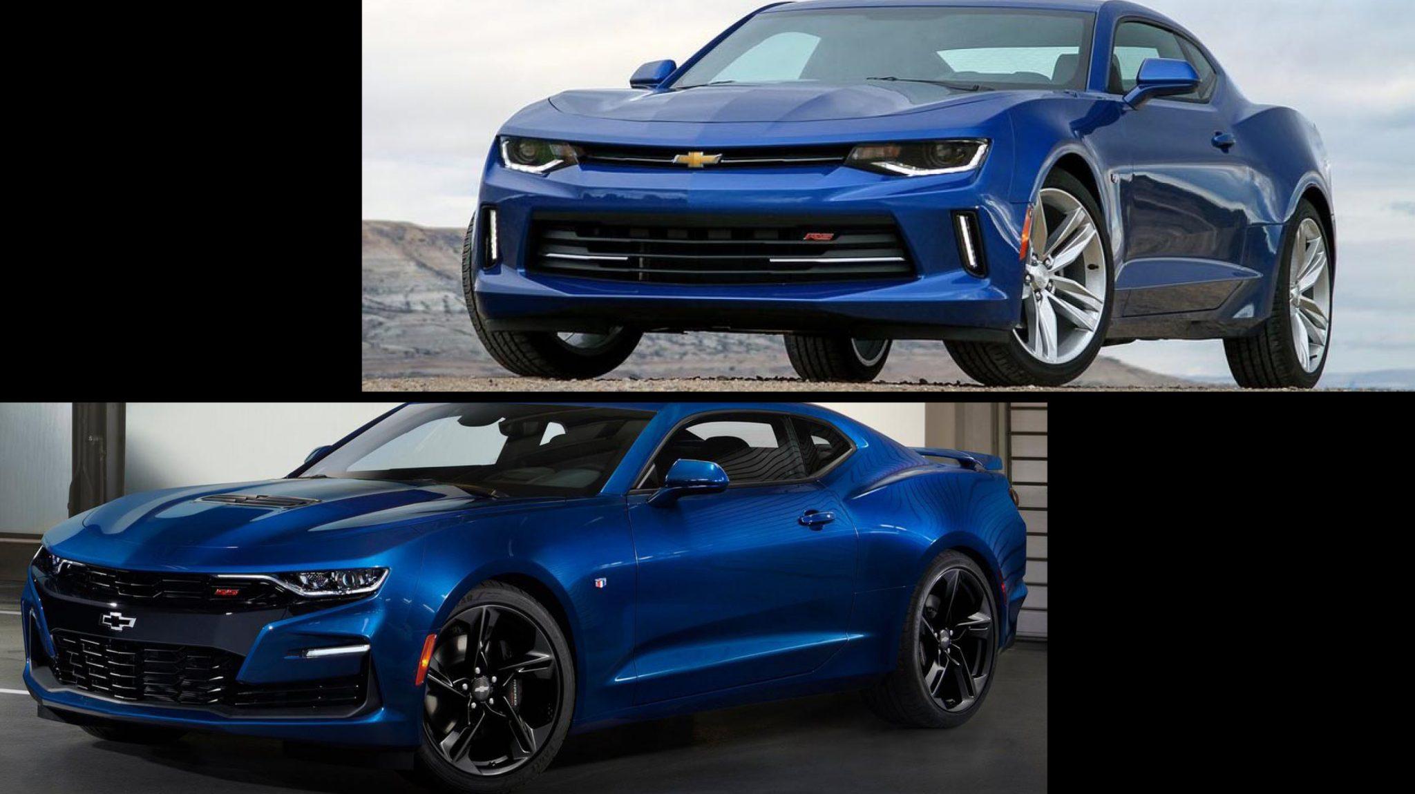 Chevrolet Camaro SS Facelift vs Pre-facelift