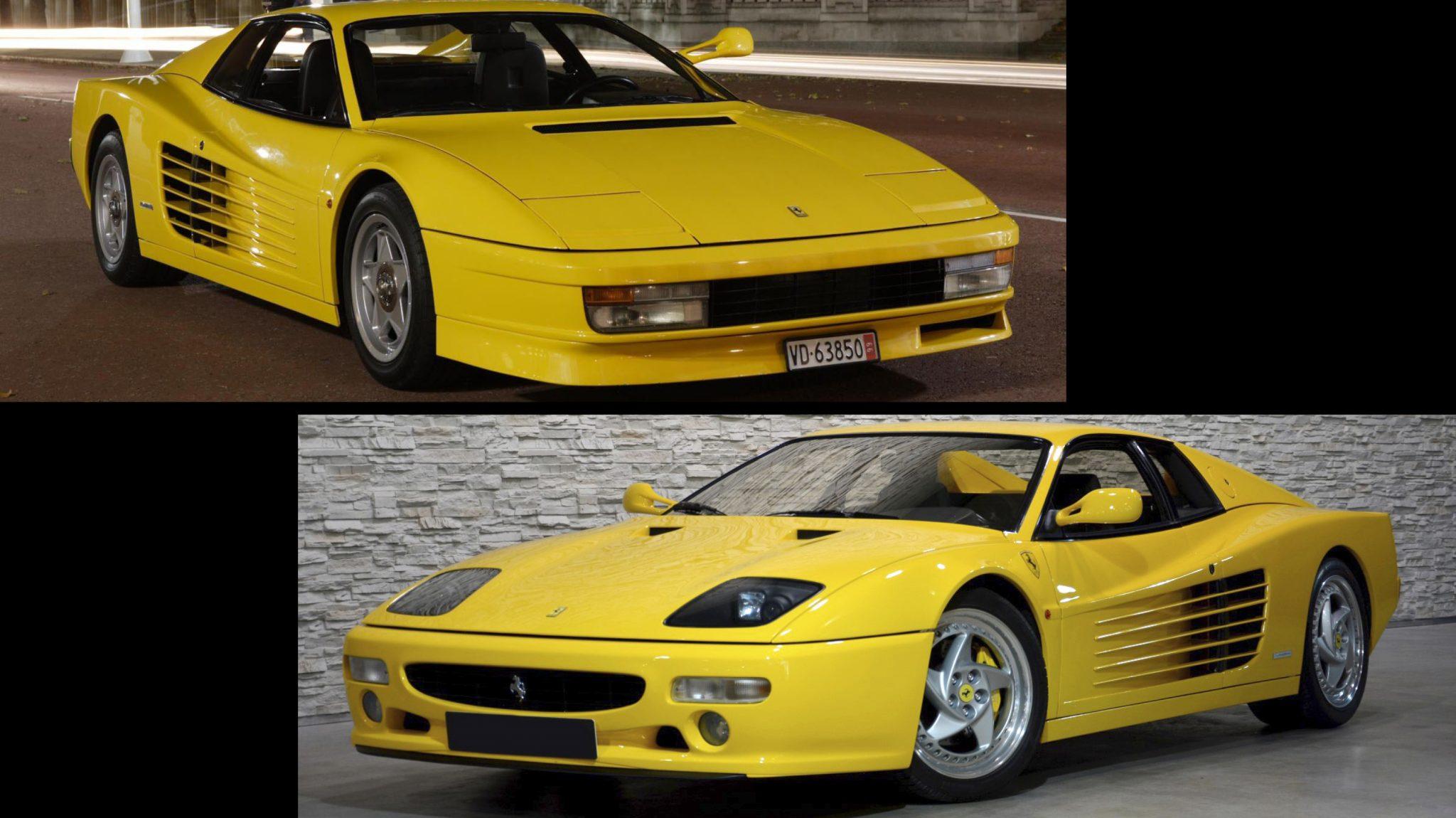 Ferrari 512M Facelift vs Pre-facelift