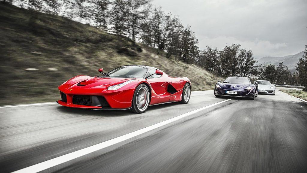 Ferrari LaFerrari voor McLaren P1 en Porsche 918 Spyder