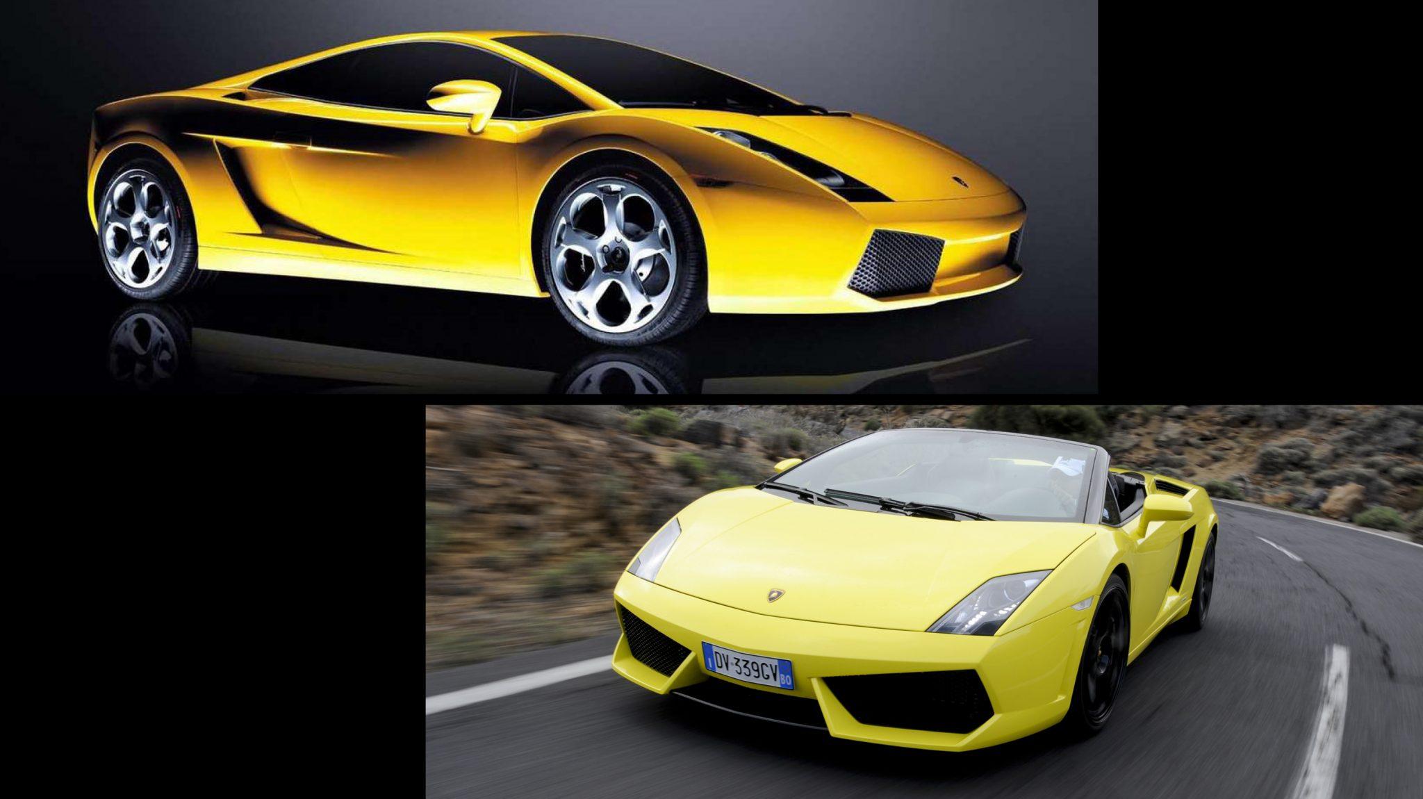 Lamborghini Gallardo Facelift vs Pre-facelift