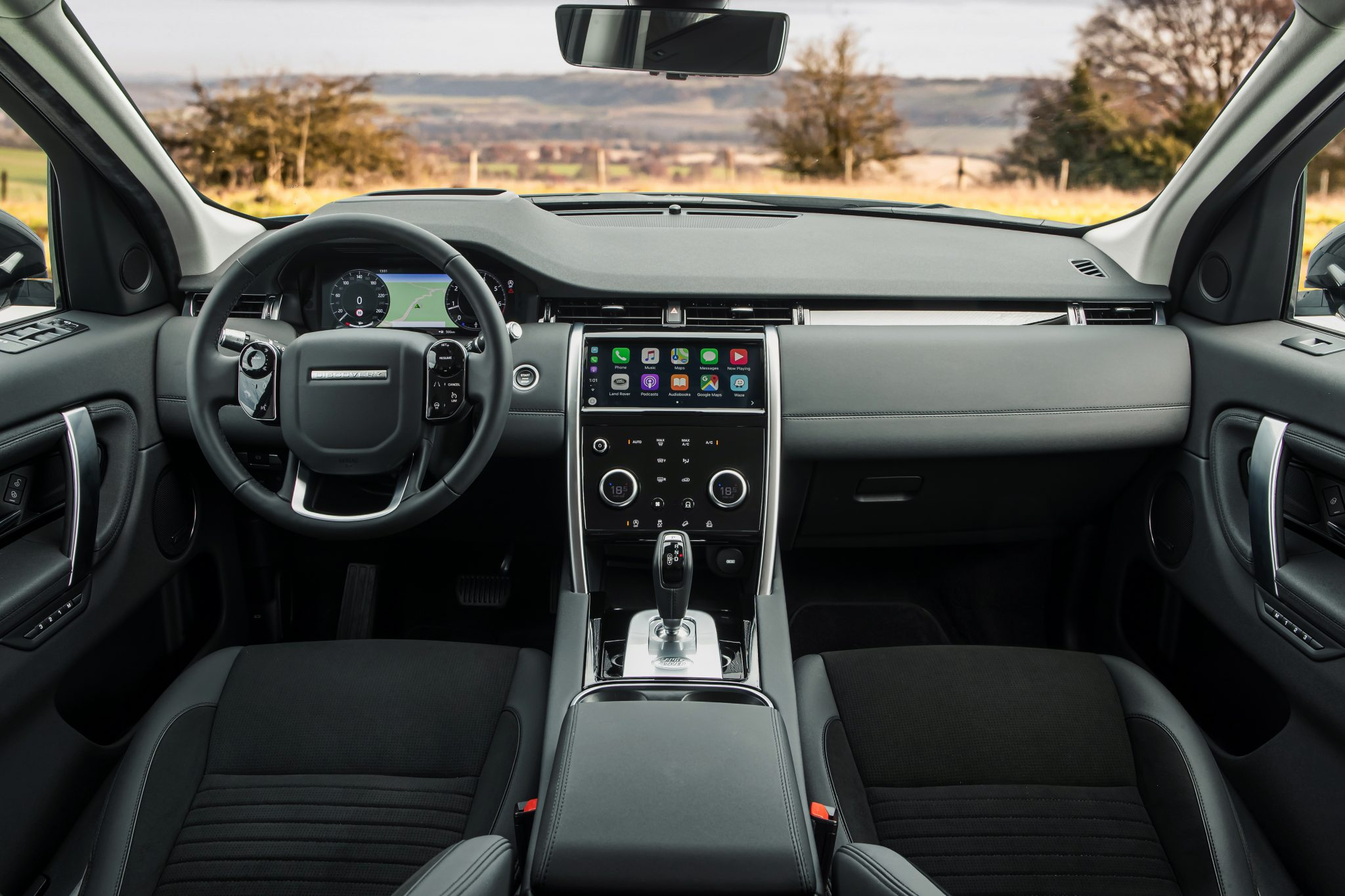 Interieur Land Rover Discovery Sport