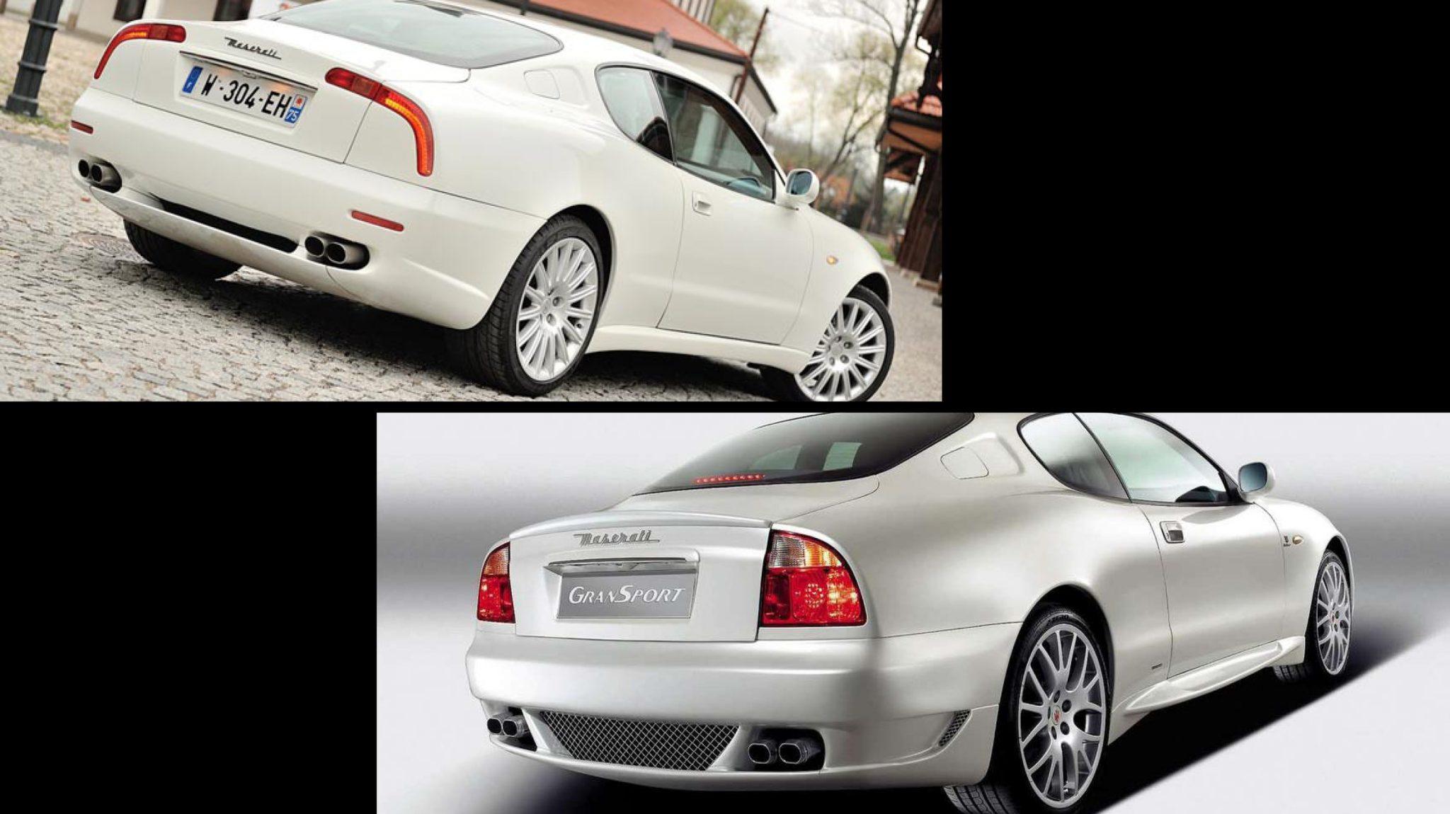 Maserati 3200 GT Boomerang Facelift vs Pre-facelift