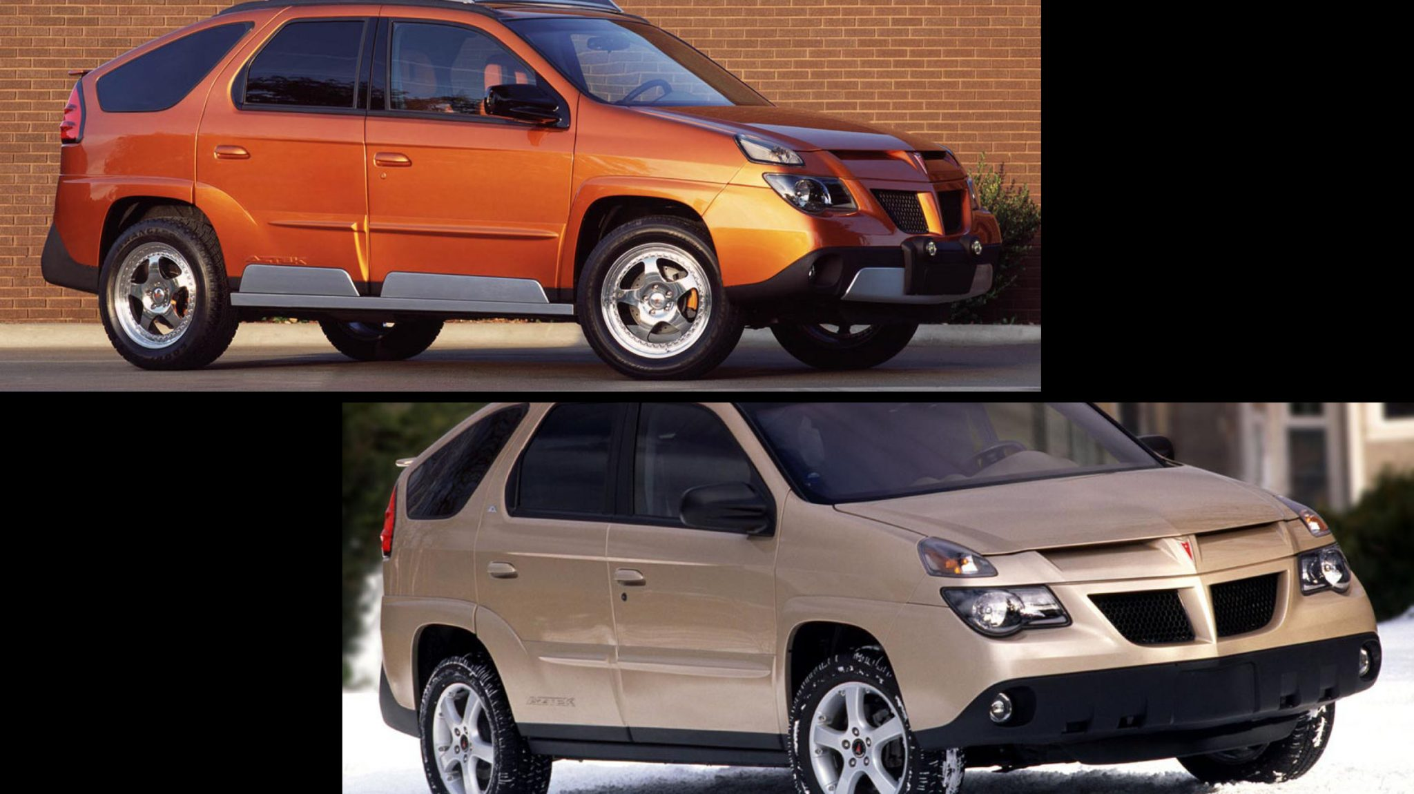 Pontiac Aztek Facelift vs Pre-facelift