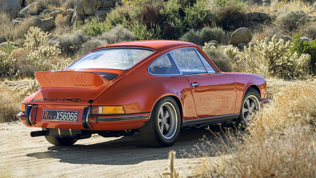 Porsche oer-911 statisch achterkant