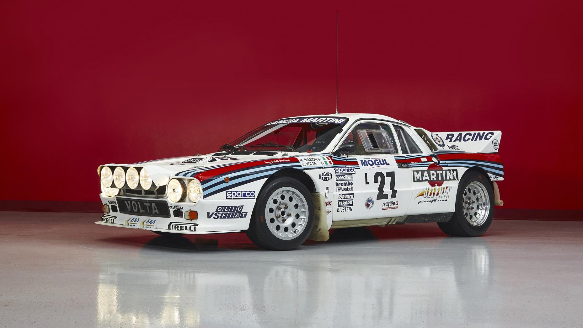 Lancia Delta 037 Rallye Evo 2 Group B
