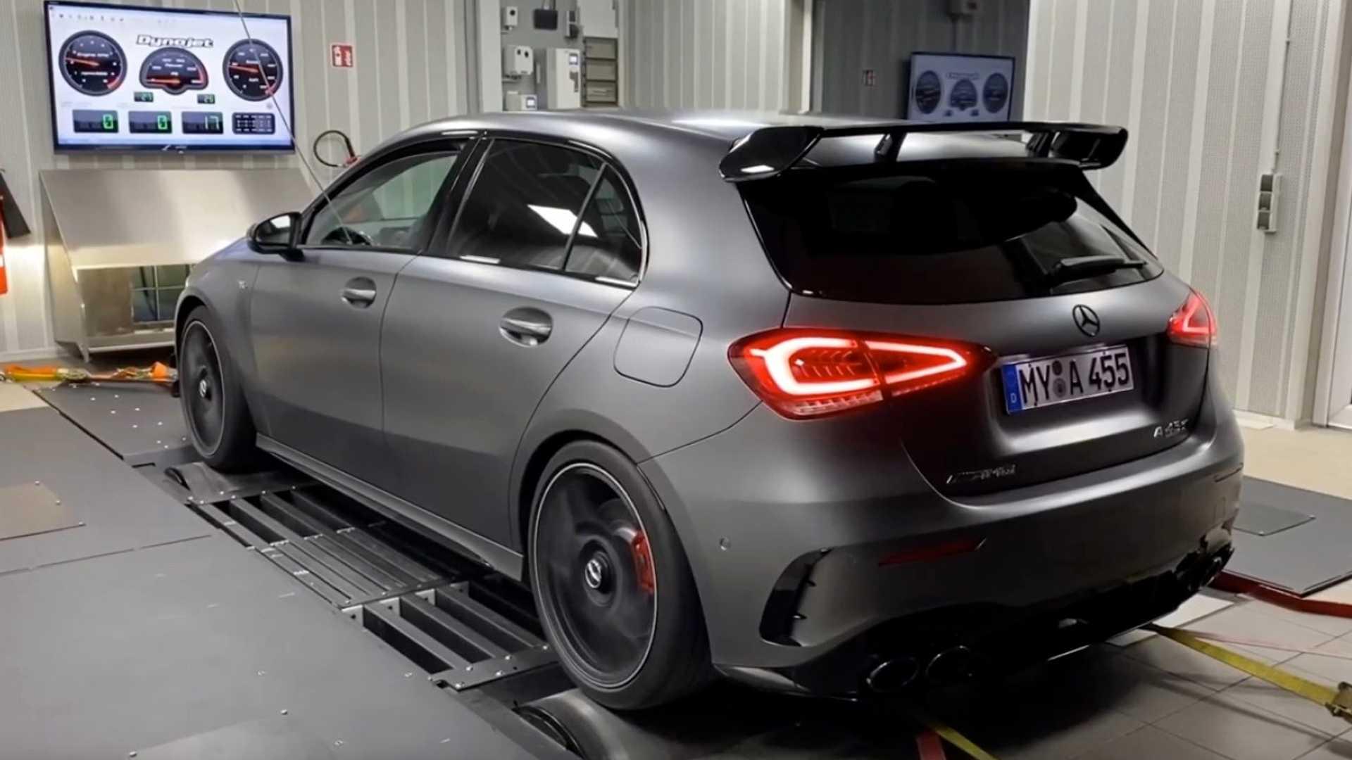 Renntech Mercedes-AMG A 45 rollerbank rollenbank
