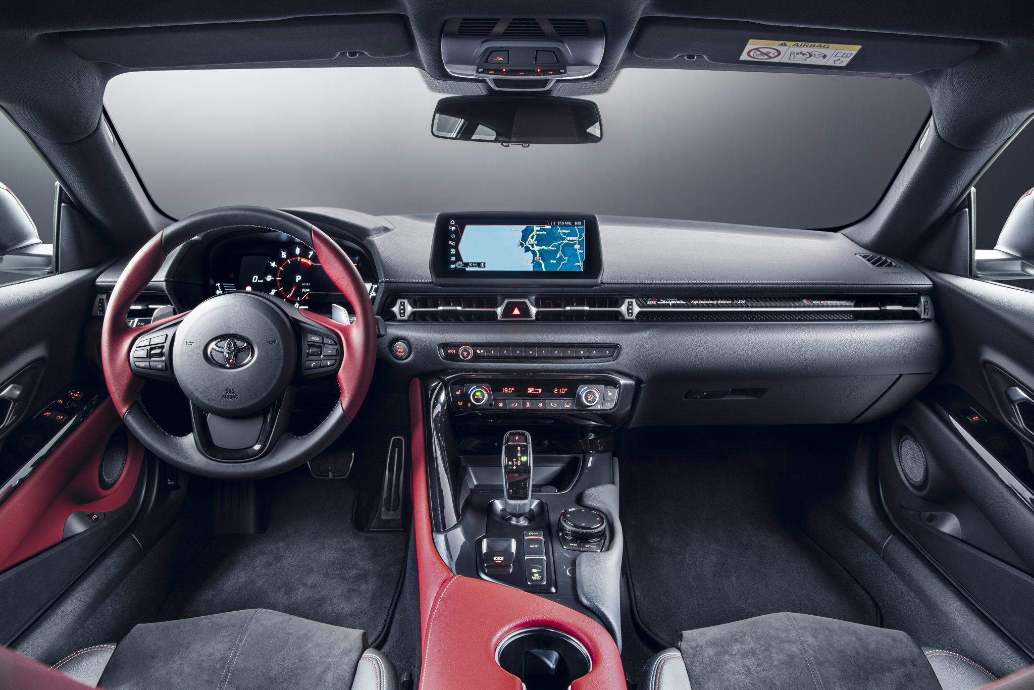 Toyota Supra 2.0 Interieur