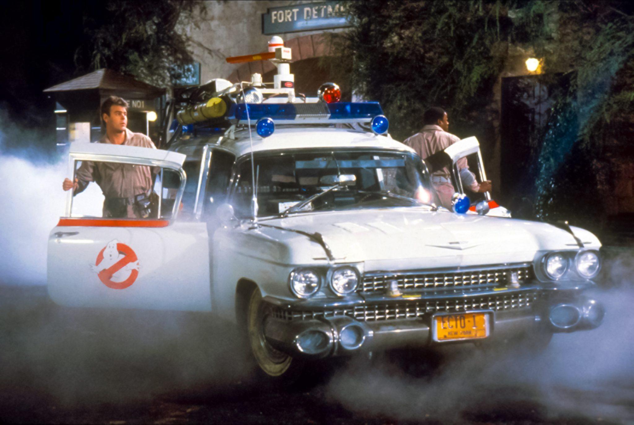 Auto van Ghostbusters
