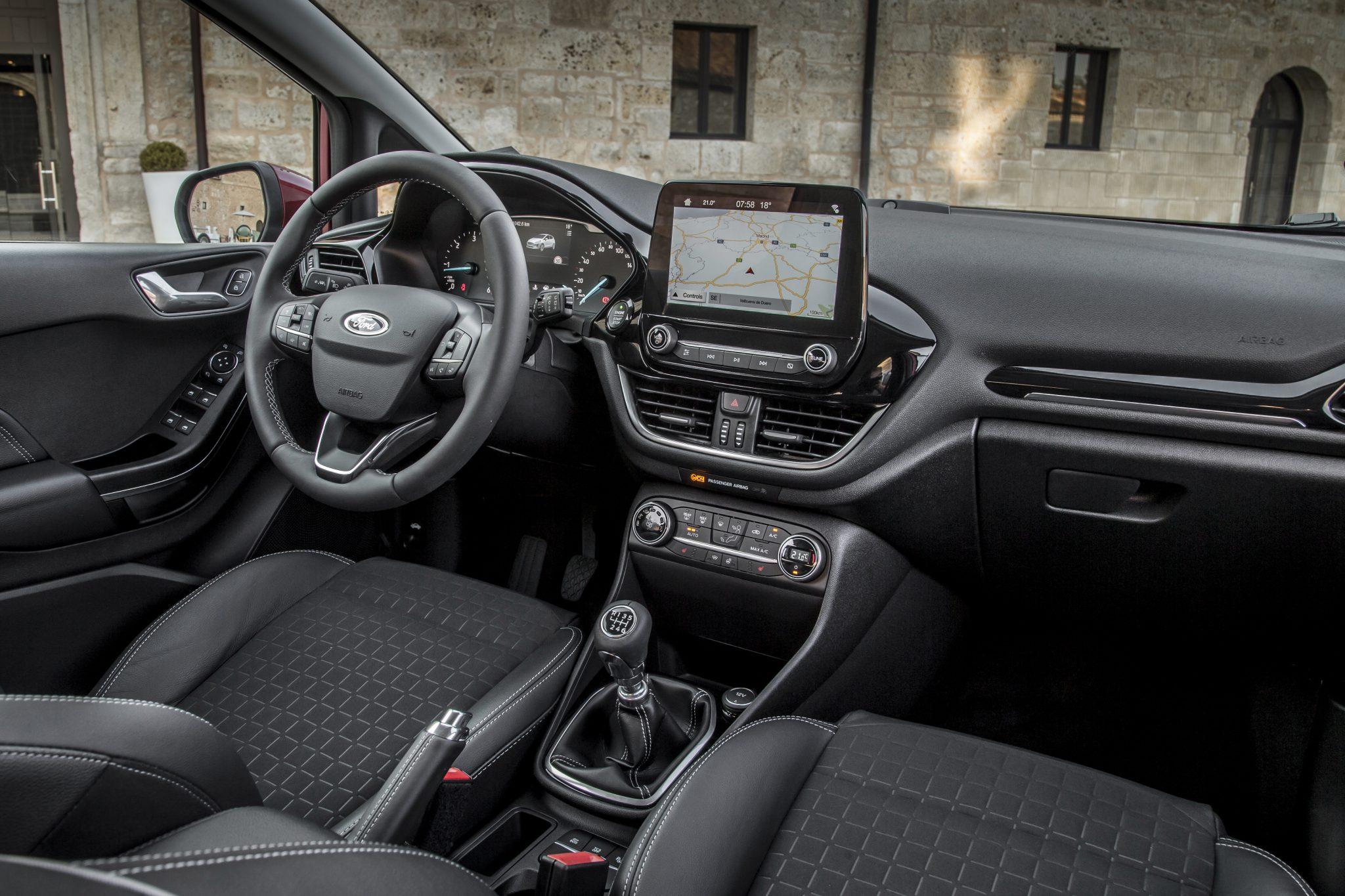 Interieur Ford Fiesta Titanium