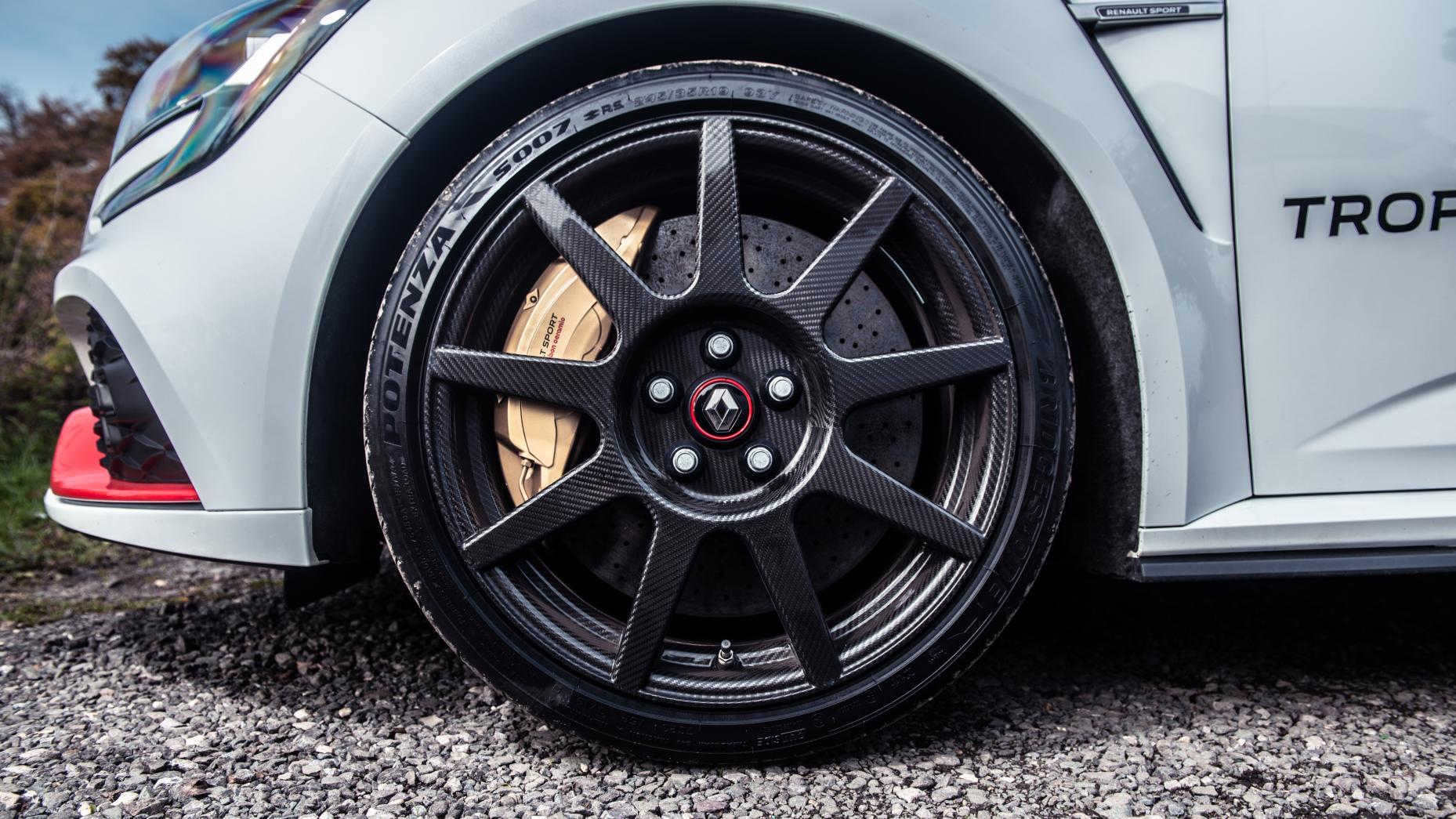 Renault Megane Trophy-R koolstofvezel wielen