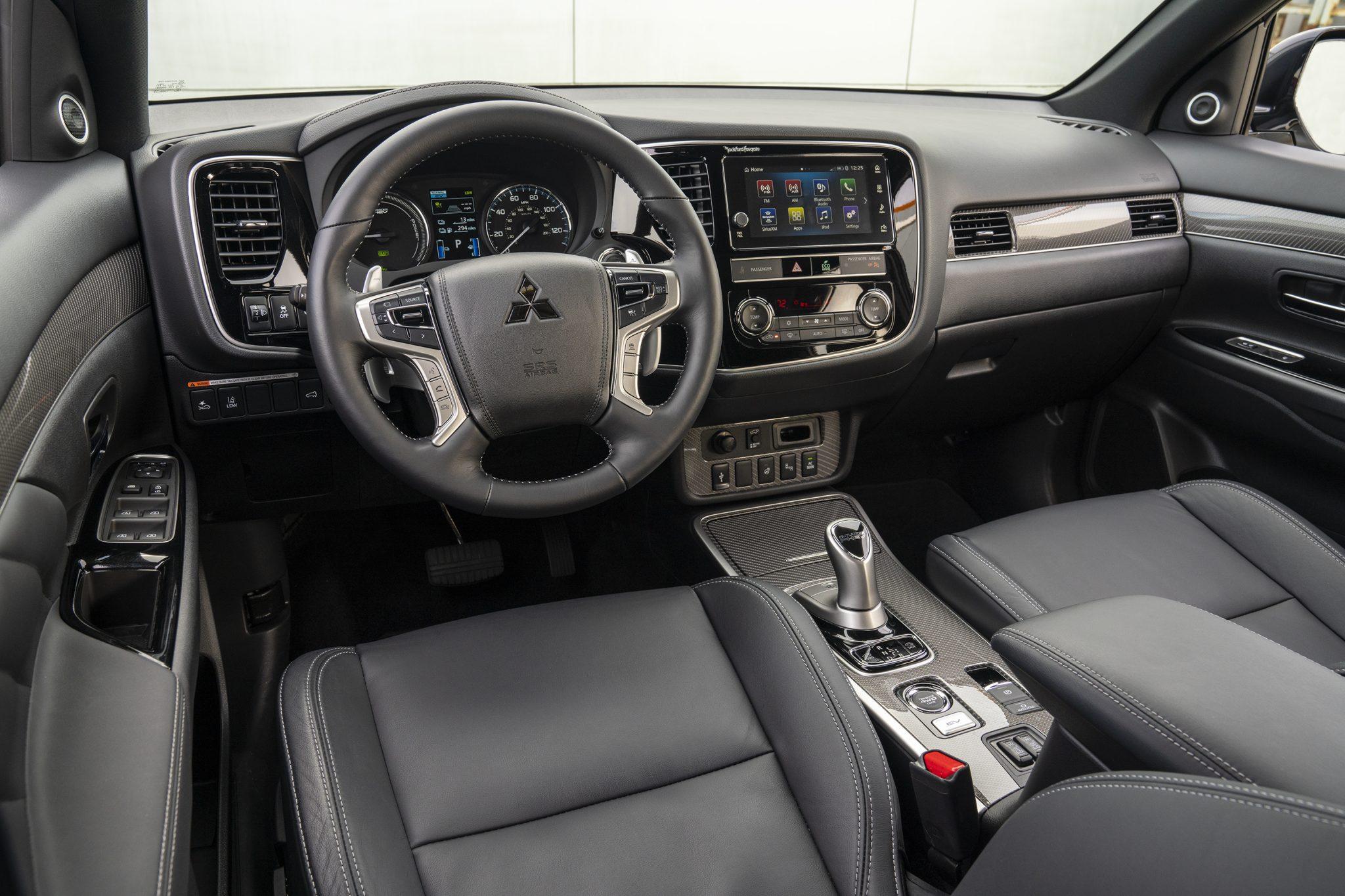Interieur Mitsubishi Outlander PHEV (2019)