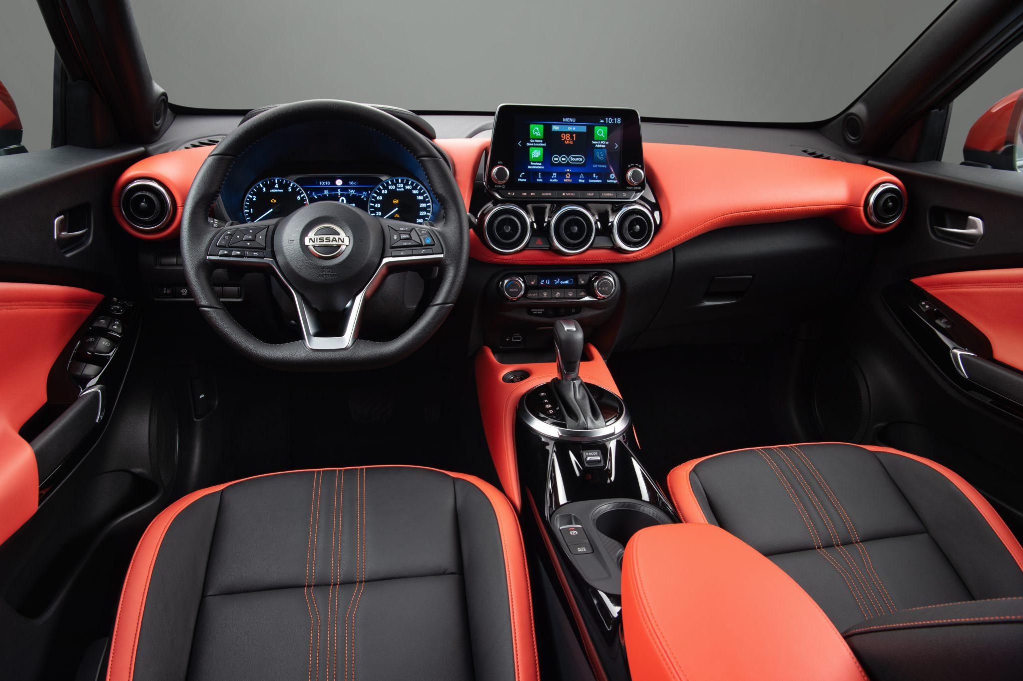 Interieur Nissan Juke (2020)