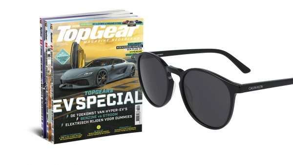 Anderhalf jaar TopGear met Calvin Klein zonnebril