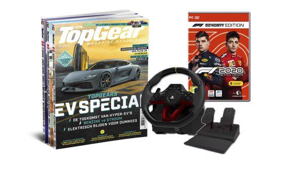 Abonnement hori racestuur en F1 2020